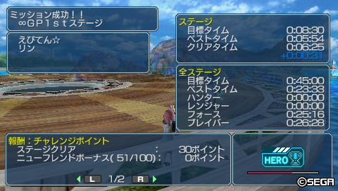 ∞GP 1stステージ