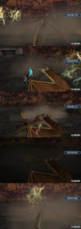 焔帝の猛攻(3~7回目)